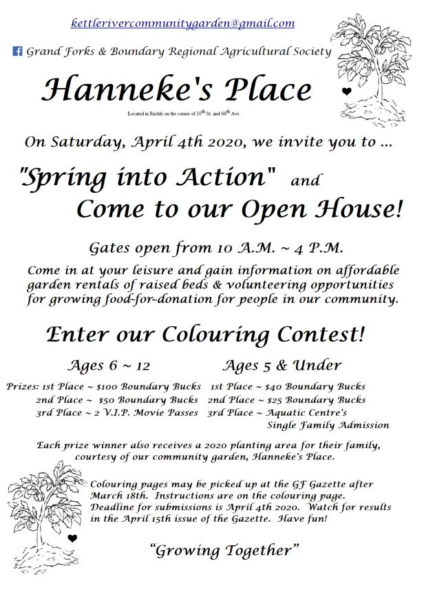 Hanneke's Place; Flyer; OpenHs-Contest 2020